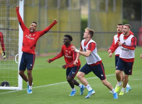 Skuad Arsenal disebut Ole Gunnar Solskjaer berkualitas (Foto: Arsenal Media)