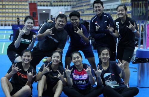 Tim Indonesia di Kejuaraan Dunia Bulu Tangkis Junior 2019