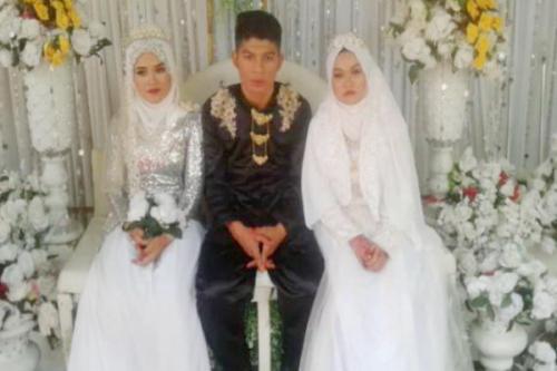 Unik, sekali menikah dapat dua istri