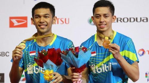 Fajar Alfian/Muhammad Rian Ardianto juara Malaysia Master 2018