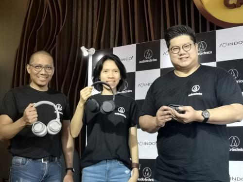Audio Technica menghadirkan perangkat audio terbarunya di pasar Indonesia.