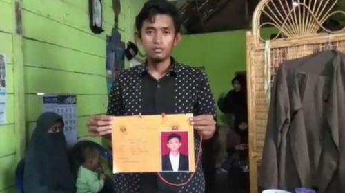 Mahasiswa Unila Tewas saat Diksar (Foto: iNews)