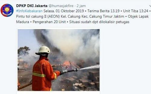 Informasi Kebakaran