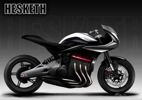 Sepeda motor tiga silinder