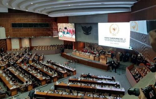 Pelantikan Anggota DPR 2019-2024