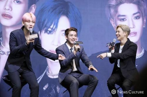 Baekhyun, Lucas, dan Taemin SuperM