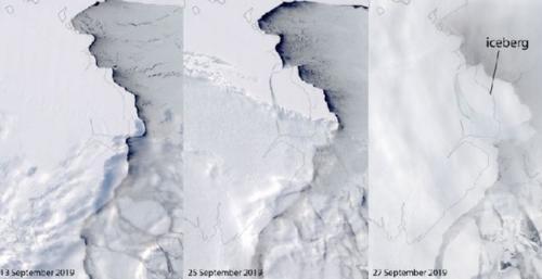 Gunung Es Sebesar Kota Sidney Hancurkan Lapisan Es