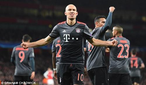Arjen Robben pensiun