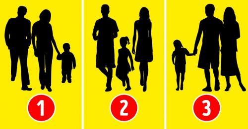 Coba perhatikan baik-baik gambar di bawah ini. Menurut kamu, foto manakah yang bukan keluarga asli?
