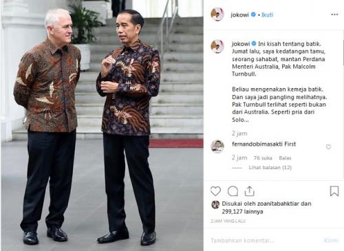 Jokowi dan turnbull
