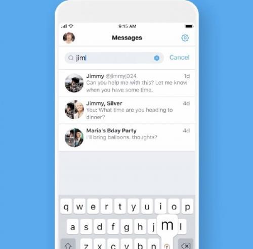 Twitter Perluas Pencarian DM untuk Seluruh Pengguna