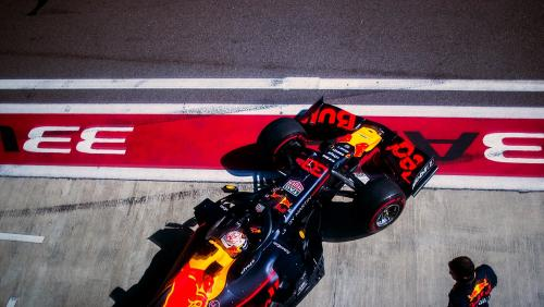 Pembalap Tim Red Bull Racing, Max Verstappen