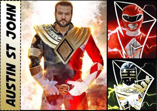 Power Ranger Merah