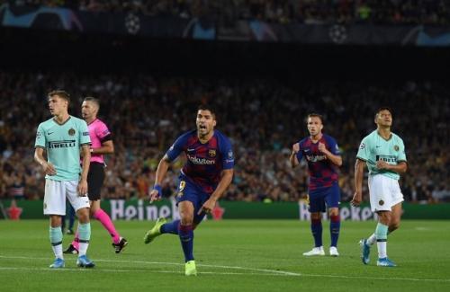 Inter Milan menelan kekalahan saat bertandang ke Barcelona (Foto: UEFA)