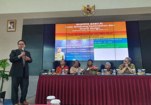 Diskusi soal pemindahan Ibu Kota