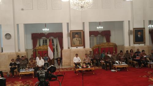 Sidang Kabinet Terakhir Jokowi (Foto: Okezone/Fakhrizal)