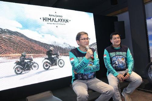 Royal Enfield Moto Himalaya