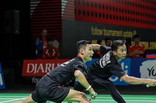 Kenas/Rian kalah di perempatfinal Indonesia Masters 2019 Super 100