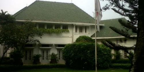 Rumah dinas Gubernur DKI Jakarta (Foto : Okezone)