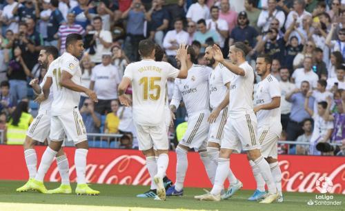 Real Madrid vs Granada (Foto: Twitter La Liga)
