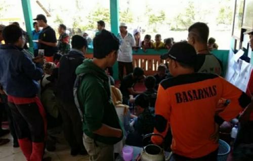 Evakuasi Pendaki Gunung Raung