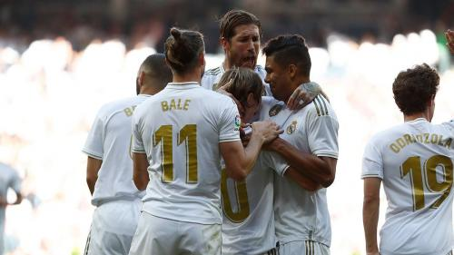 Real Madrid vs Granada (Foto: Twitter Madrid)