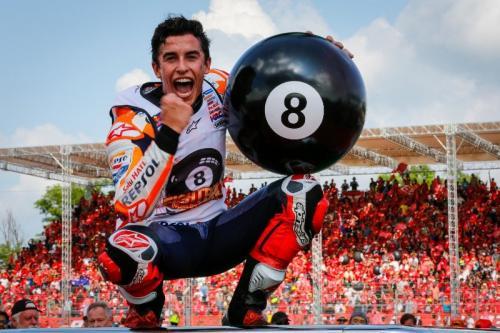 Marc Marquez resmi sabet gelar juara dunia MotoGP 2019