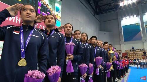 Timnas Putri Bulu Tangkis Indonesia