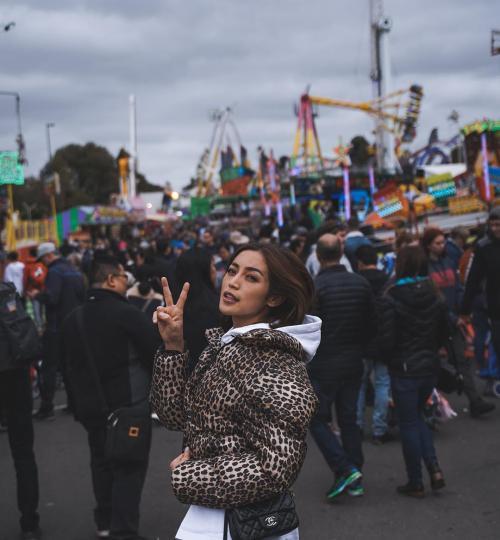 Jessica Iskandar liburan