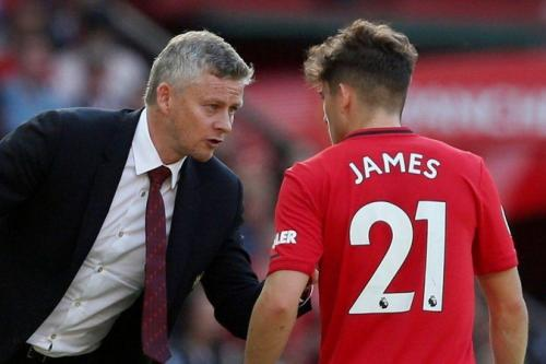 Solskjaer dan Daniel James