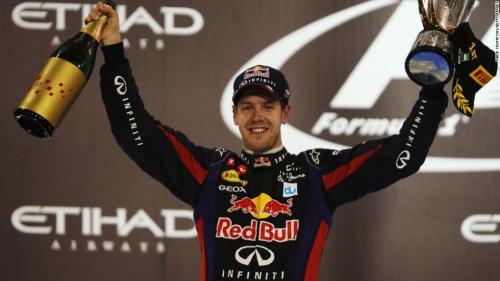 Sebastian Vettel menjalani masa keemasan di Red Bull Racing
