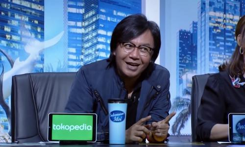 Ari Lasso meledek Anang Hermansyah saat Indah tampil di Audisi Indonesian Idol 2019. (Foto: YouTube/Indonesian Idol)