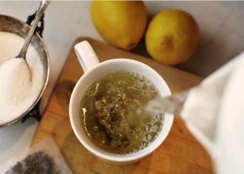bikin teh hijau