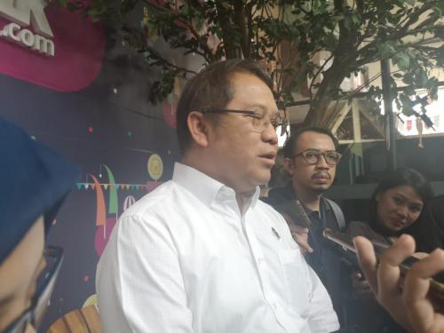 Menkominfo Rudiantara mengungkapkan bahwa dirinya merasa senang telah membantu pemerintahan Jokowi-JK.