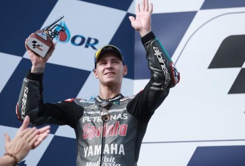 Fabio Quartararo hampir meraih kemenangan di MotoGP Thailand 2019