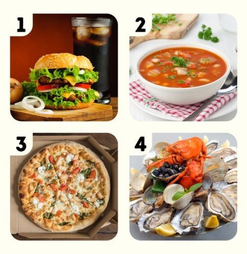 Makanan apa yang ingin kamu makan sekarang?