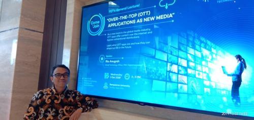 MNC Group memiliki beberapa OTT application antara lain MNC Now, metube.id dan RCTI Plus.