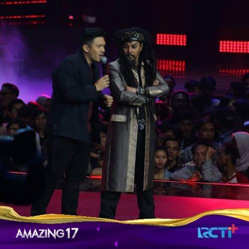 Master Limbad memulai aksinya di Amazing 17 GTV dipandu Reza Nangin. (Foto: Instagram/@officialgtvid)