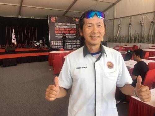 Robby Suarly berharap KOI semakin solid (Foto: Okezone/Admiraldy Eka Saputra)