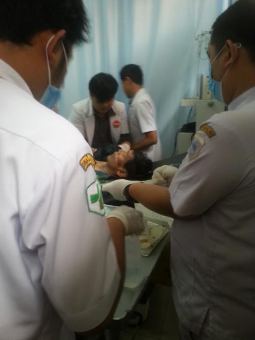 Menko Polhukam Wiranto Ditusuk saat Menghadiri Peresmian Gedung Baru Universitas Mathla'ul Anwar, Pandeglang, Banten (foto: Ist)