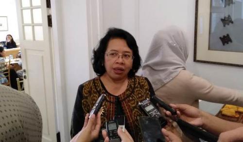 Wakil Dubes RI untuk RRT Listyowati. (Foto: Rahman Asmardika/Okezone)