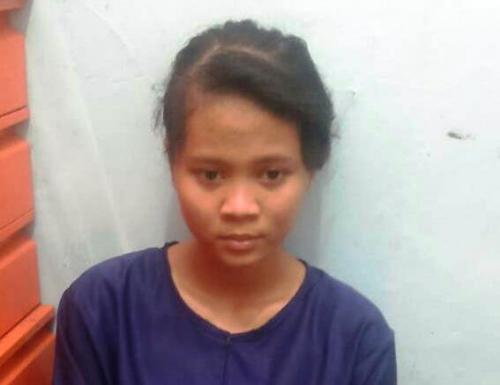 Perempuan adalah istri penusuk Wiranto (Foto : Istimewa)
