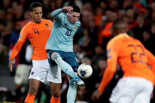 Laga Belanda vs Irlandia Utara