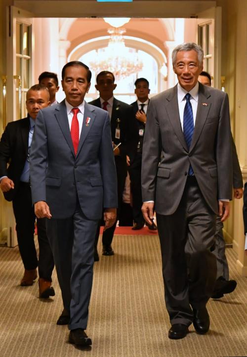 Jokowi dan PM Singapura