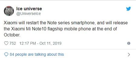 Xiaomi Dikabarkan Bakal Hadirkan Mi Note