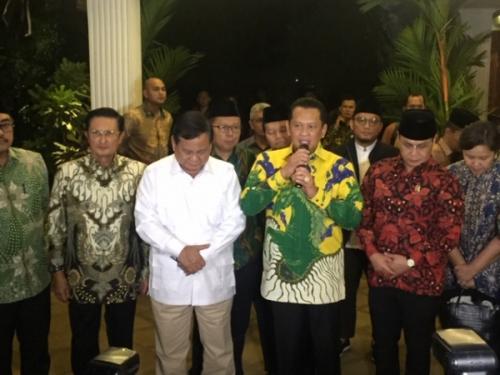 MPR - Prabowo