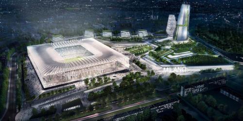 Rancangan stadion baru AC Milan dan Inter Milan