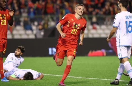 Belgia vs San Marino (Foto: UEFA)