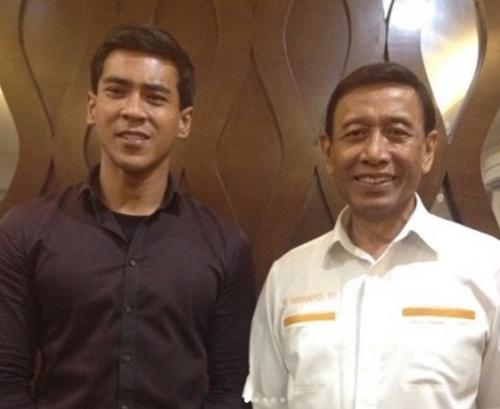 Dian Sidik dan Wiranto