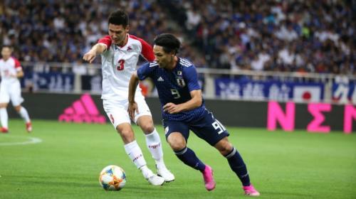 Timnas Jepang vs Mongolia